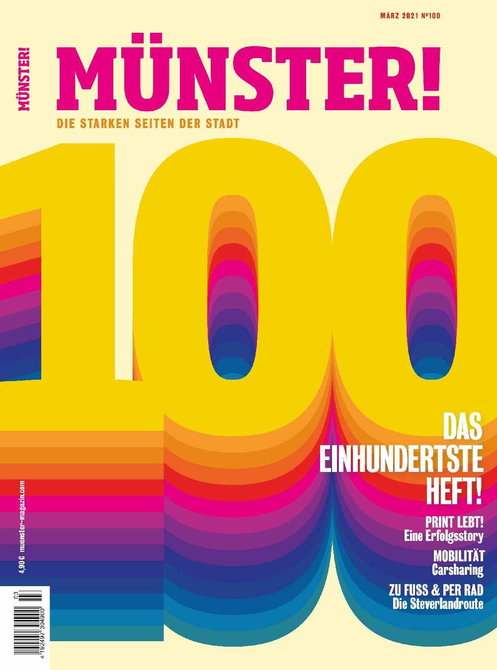 Münster! Magazin 100 Titel