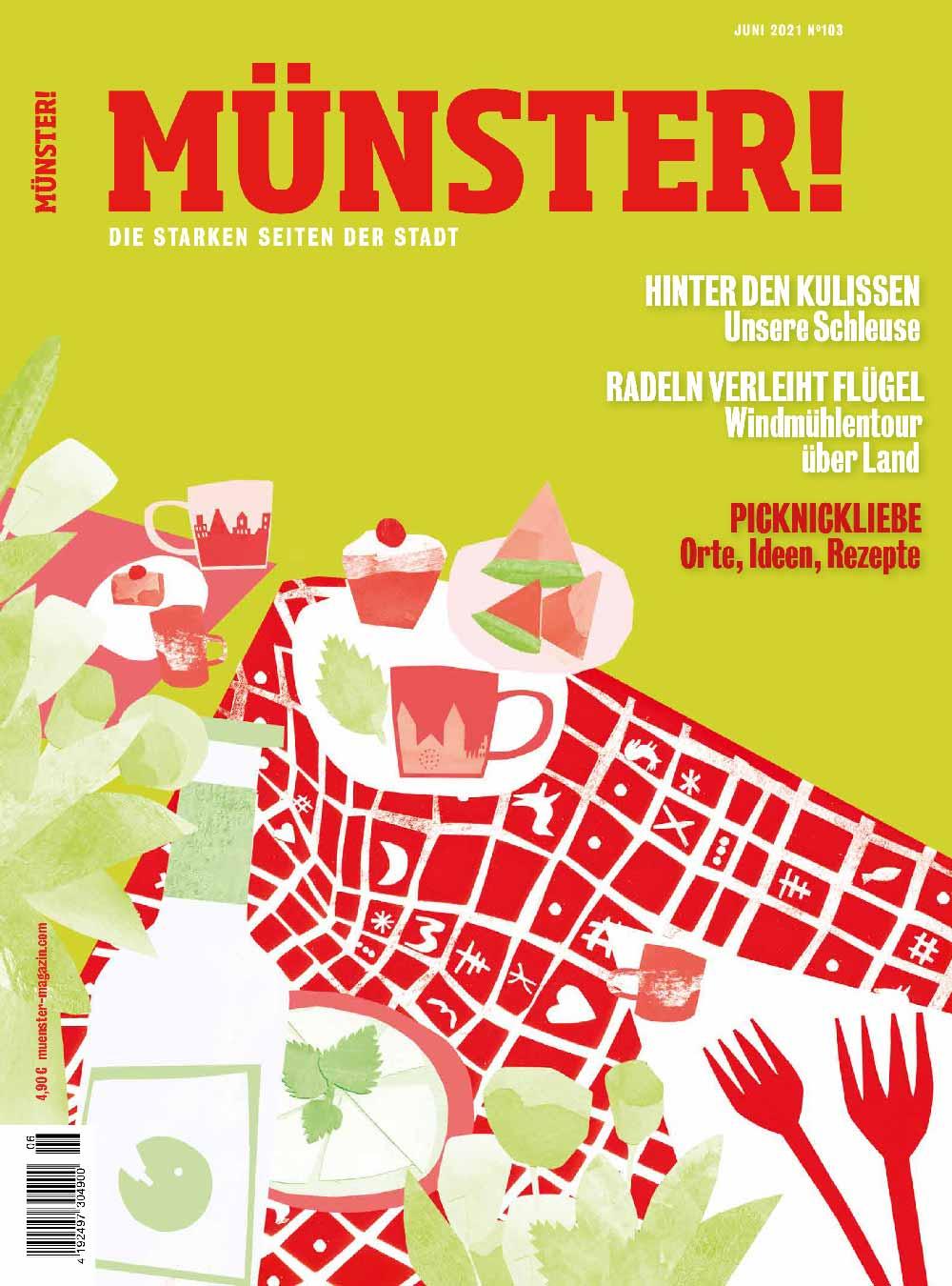 Münster! Magazin 103 Titel