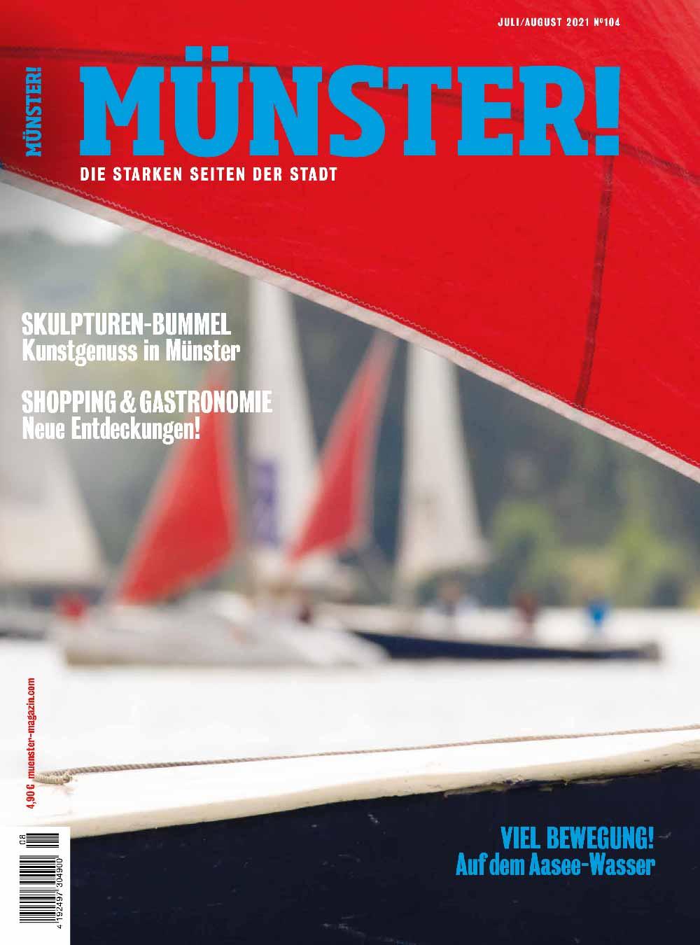 Münster! Magazin 104 Titel